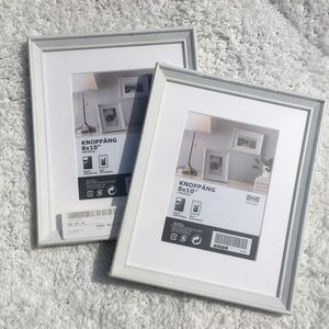 IKEA Knoppang Set of 2 Sealed Picture Frames 8x10